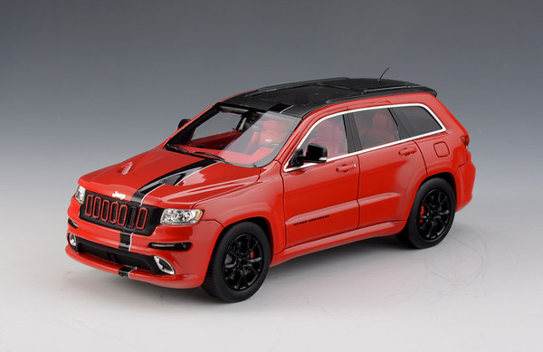 Jeep Grand Cherokee SRT8 Formula 1 Version SRT8 4x4 2012 red black – image 1