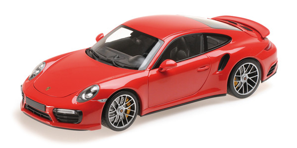 PORSCHE 911 TURBO S - 2016 - RED – Bild 2