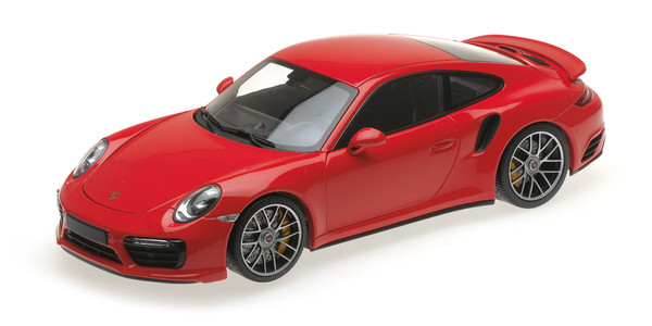PORSCHE 911 TURBO S - 2016 - RED – Bild 1