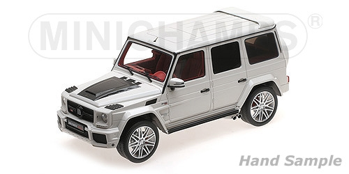 BRABUS 850 6.0 BITURBO WIDESTAR AUF BASIS MERCEDES-BENZ - AMG G 63 - 2016 - WHITE