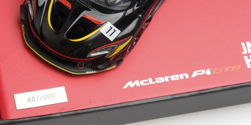 MCLAREN P1 GTR - ´JAMES HUNT 40TH ANNIVERSARY´ – Bild 4