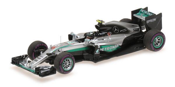 MERCEDES AMG PETRONAS F1 TEAM - F1 W07 HYBRID - NICO ROSBERG - MONACO GP 2016 L.E. 344 pcs. – Bild 4