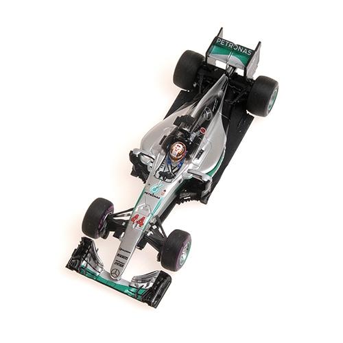MERCEDES AMG PETRONAS F1 TEAM - F1 W07 HYBRID - LEWIS HAMILTON - WINNER MONACO GP 2016 L.E. 400 pcs. – Bild 2