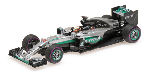 MERCEDES AMG PETRONAS F1 TEAM - F1 W07 HYBRID - LEWIS HAMILTON - WINNER MONACO GP 2016 L.E. 400 pcs. – Bild 1