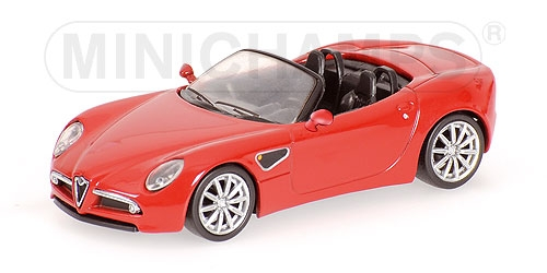 ALFA ROMEO 8C SPIDER - 2008 - RED
