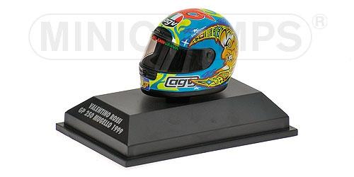AGV HELMET - VALENTINO ROSSI - WORLD CHAMPION GP 250 MUGELLO 1999 – Bild 2