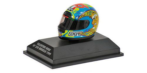 AGV HELMET - VALENTINO ROSSI - WORLD CHAMPION GP 250 MUGELLO 1999 – Bild 1