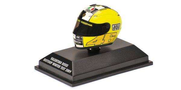AGV HELMET - VALENTINO ROSSI - MOTOGP 2009 - WINTER TEST