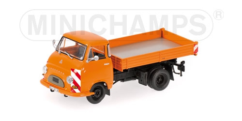 HANOMAG KURIER KIPPER - 1958 - ORANGE L.E. 504 pcs.