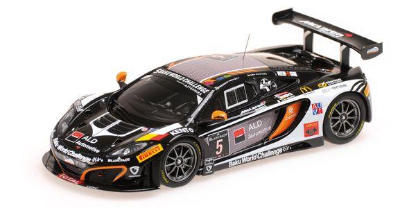MCLAREN 12C GT3 - BOUTSEN GINION RACING - GUILVERT/DERMONT/VERVISCH/WAUTERS - 24H SPA 2013 L.E. 513 pcs. – Bild 1