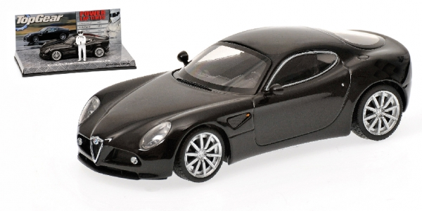 ALFA ROMEO 8C COMPETIZIONE - 2005 - BLACK METALLIC - 'TOP GEAR'