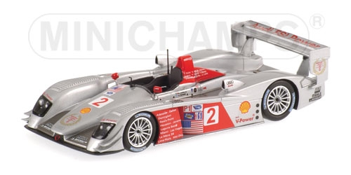 AUDI R8 - MCNISH/CAPELLO - WINNERS NEW ENGLAND GRAND PRIX - TEAM AUDI SPORT NORTH AMERICA -ELMS 2006 L.E. 1008 pcs.