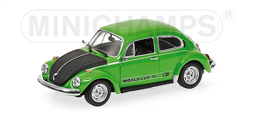 VOLKSWAGEN 1303 - 'WORLD CUP 1974' - 1974 - GREEN (CLIFFGR N) L.E. 2010 pcs.