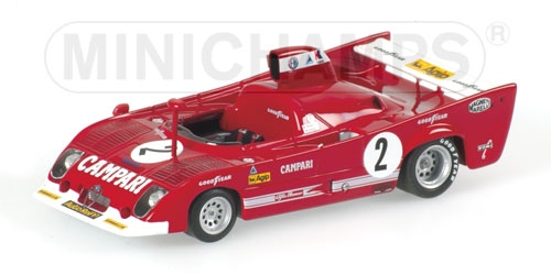 ALFA ROMEO 33 TT 12 - PESCAROLO/BELL - WINNER - TEAM WKRT - 1000KM SPA 1975 L.E. 2304 pcs.