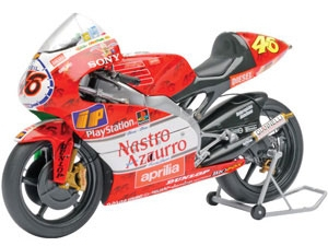 APRILIA 250CCM - VALENTINO ROSSI - TEAM APRILIA GRAND PRIX RACING - WORLD CHAMPION GP 250 1999 IMOLA