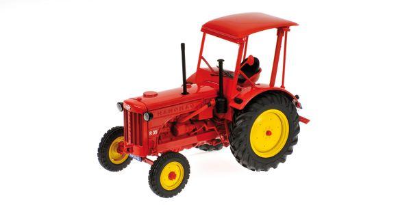 HANOMAG R35 - FARM TRAKTOR WITH ROOF - 1955 - RED – Bild 1