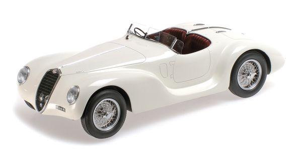 ALFA ROMEO 6C 2500 SS CORSA SPIDER - 1939 - WHITE L.E. 999 pcs. – image 1