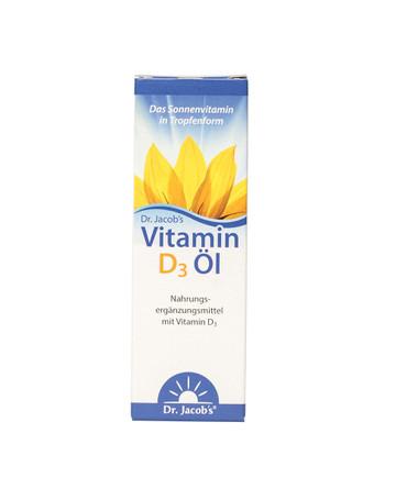 Dr. Jacobs Vitamin D3 Öl, 20ml