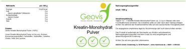 Kreatin-Monohydrat 1000g Pulver – Bild 3