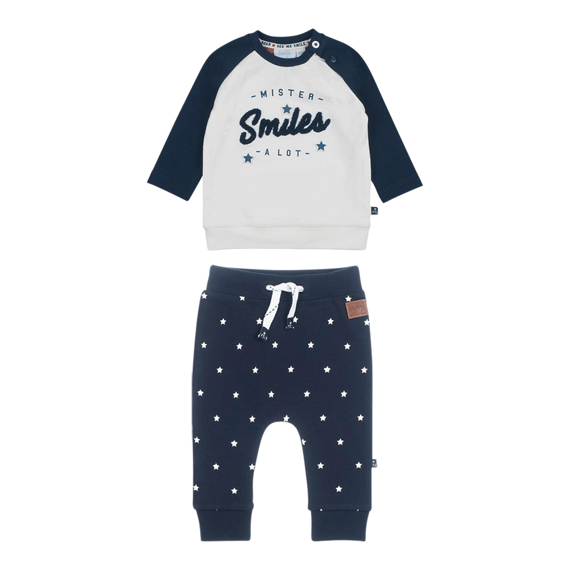 Good Looks II Feetje Baby-Jungen T-Shirt und Shorts zweiteiliges Set Mr