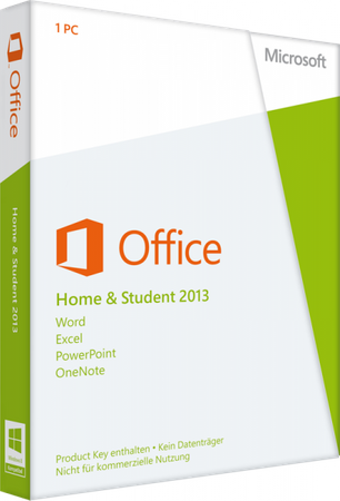 Office 2013 Home & Student, 1 PC, DEUTSCH ESD -