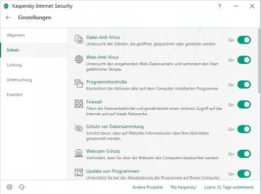 Kaspersky Internet Security Multi-Device 2020 1 PC 1 Jahr – Bild 4