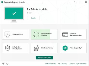 Kaspersky Internet Security Multi-Device 2020 1 PC 1 Jahr – Bild 6
