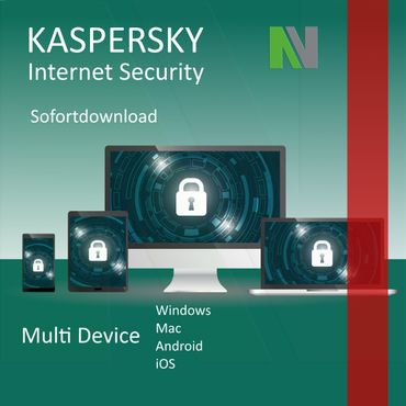 Kaspersky Internet Security Multi-Device 2019 5 PC Geräte 1 Jahr