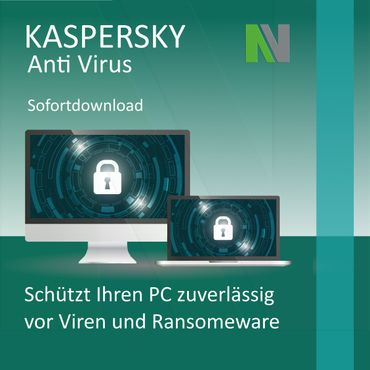 Kaspersky AntiVirus 2020 1 PC, 2 Year EU License