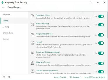 Kaspersky Total Security 2019 Multi-Device 10 PC Devices 1 Year – Bild 5