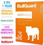 Bullguard ANTIVIRUS 3 PC 1 Year 2019 001