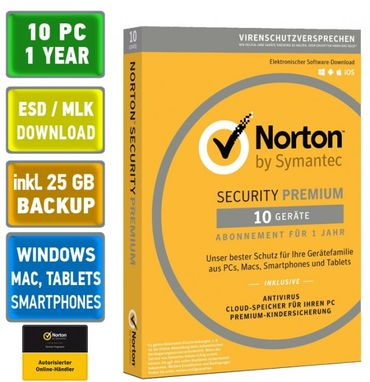 Norton Security 1 3 5 10 PC Geräte 1 Jahr 2018 Windows Mac Android Deluxe Premium Standard – Bild 8