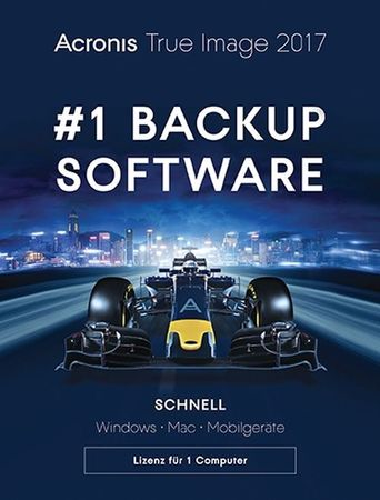 Acronis True Image 2017 1 PC MAC Free Upgrade 2018