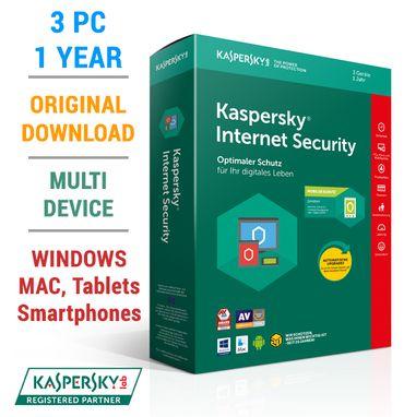 Kaspersky Internet Security Multi-Device 2018 1 3 5 10 Geräte 1 2 Jahre – Bild 9