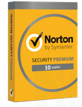 Norton Security 3.0 PREMIUM 10 PC Geräte 2 Jahre 2020 Mac Android inkl. 25 GB Online Backup 001