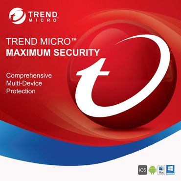 Trend Micro Maximum Security 2019 3 PC 1 Jahr