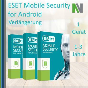 ESET Mobile Security für Android 1 2 3 Jahre Geräte 2019 Verlängerung – Bild 1