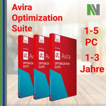 Avira Optimization Suite 2019 1-5 PC 1-3 Years Antivirus – Bild 1