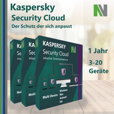 Kaspersky Security Cloud 3 5 20 PC Devices 2020 1 Year – Bild 2