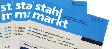 stahlmarkt Jahresabo/ annual subscription Versand Inland