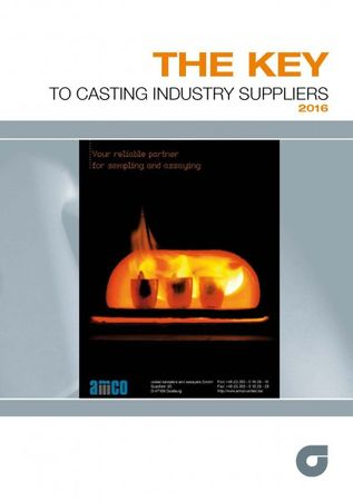 The KEY to CASTING Industry Suppliers 2016