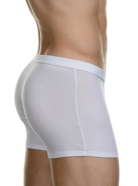 Basic Simply Cotton - Short 2Pack - weiss Bild 2