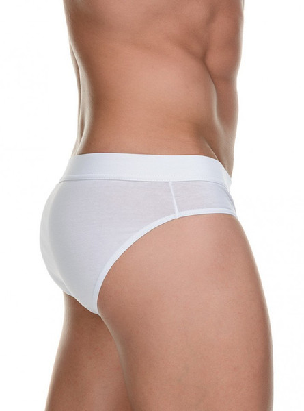 Basic Simply Cotton - Sportslip 2Pack - weiss Bild 2