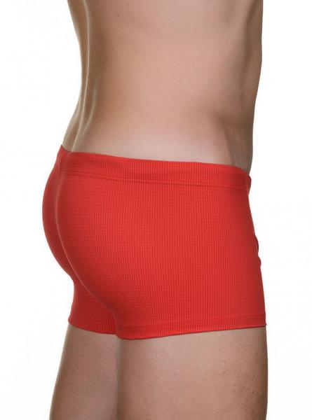 Swimshort Summer Tie - rot print Bild 2