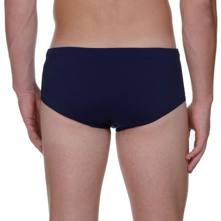 Basic Wave Line SWIM - Retro-Badehose - marine Bild 3