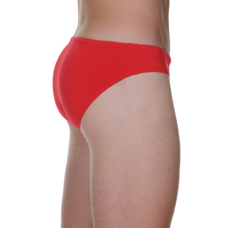 Basic Wave Line SWIM - Badehose - Mini - rot Bild 2