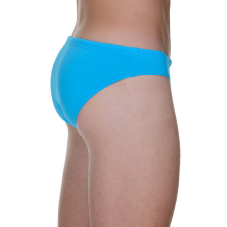 Basic Wave Line SWIM - Badehose - Mini - türkis Bild 2