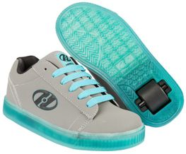 Heelys Straight Up Charcoal/Aqua/Black