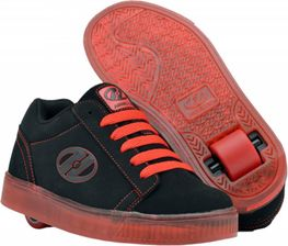 Heelys Straight Up  Black/Red (Red/soles/laces)