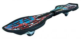 Streetsurfing Waveboard Quake Red